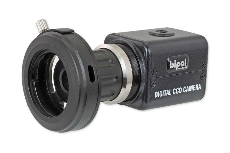 BL-12V and video coupleur - Color CCD camera BL-12V